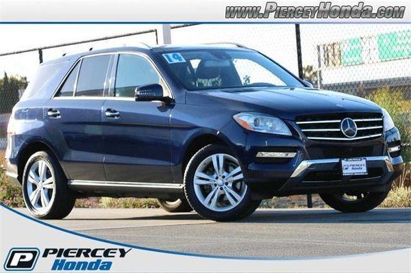 Image 2014 Mercedes-benz  ML 350 4MATIC