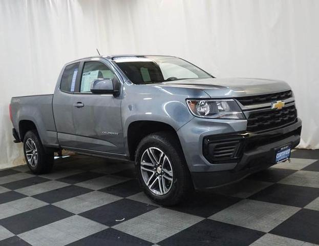 Image 2021 Chevrolet Colorado WT