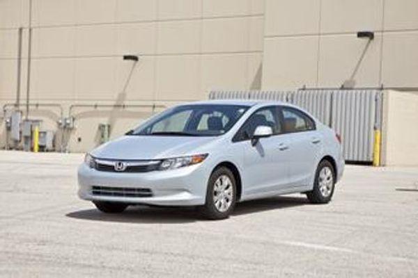 Image 2012 Honda Civic EX