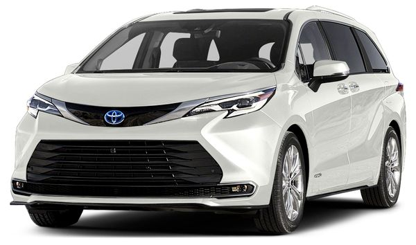 Image 2021 Toyota Sienna Platinum 7 Passenger