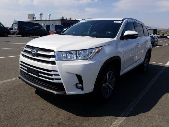 Image 2019 Toyota Highlander Xle awd