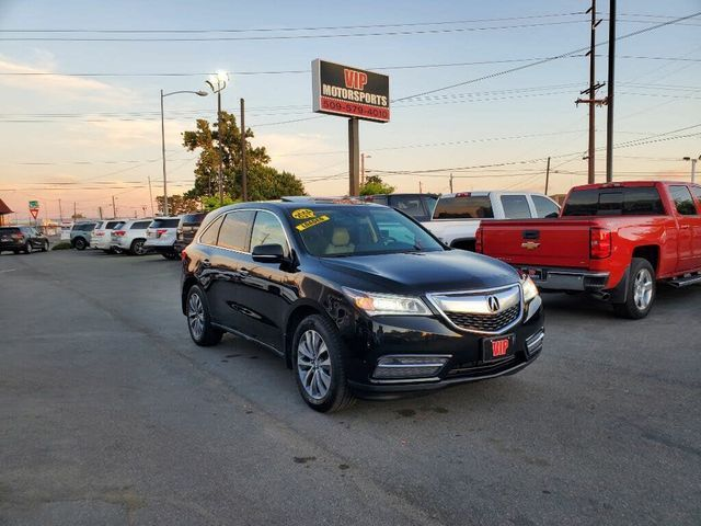 Image 2014 Acura Mdx Sh-awd with technology package