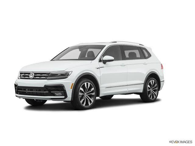 Image 2021 Volkswagen Tiguan 20t sel premium r-line 4motion awd