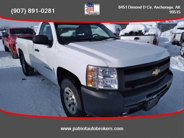 Image 2012 Chevrolet Silverado 1500 Work truck 4wd