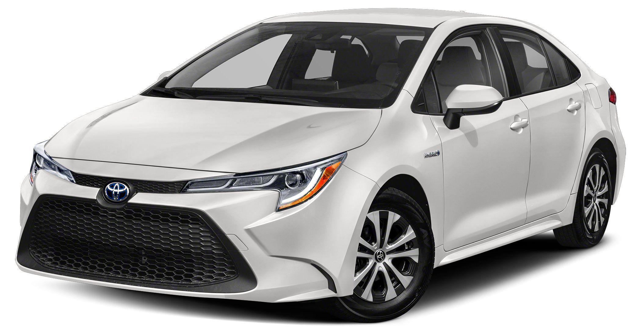 Image 2021 Toyota Corolla hybrid LE