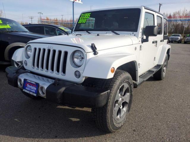 Image 2018 Jeep Wrangler jk unlimited Sahara