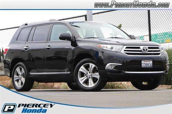 Image 2013 Toyota Highlander Limited