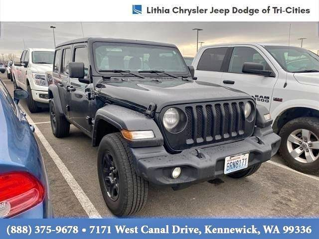 Image 2019 Jeep  wrangler unlimited Sport 4x4