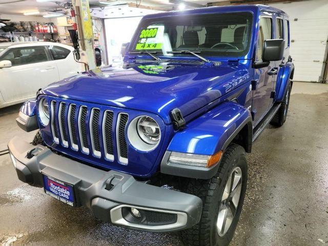 Image 2020 Jeep Wrangler unlimited Sahara