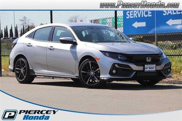 Image 2021 Honda Civic hatchback Sport fwd