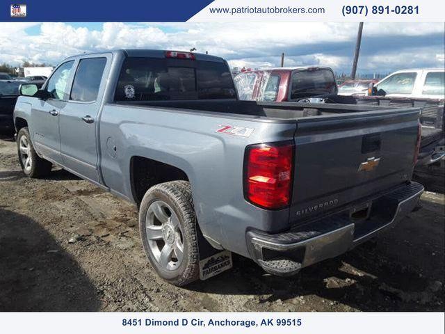 Image 2015 Chevrolet Silverado 1500 Ltz crew cab 4wd
