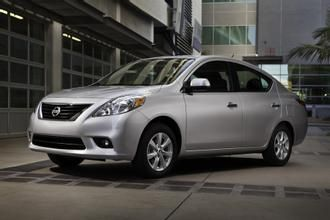 Image 2012 Nissan Versa 1.6 SV