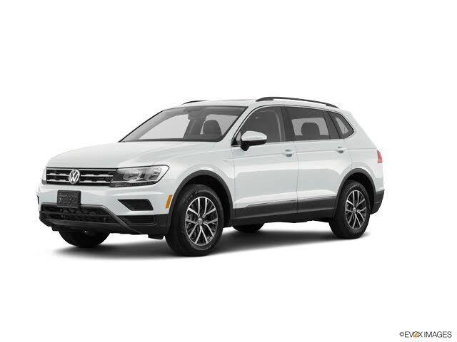 Image 2021 Volkswagen Tiguan 20t se r-line black 4motion awd