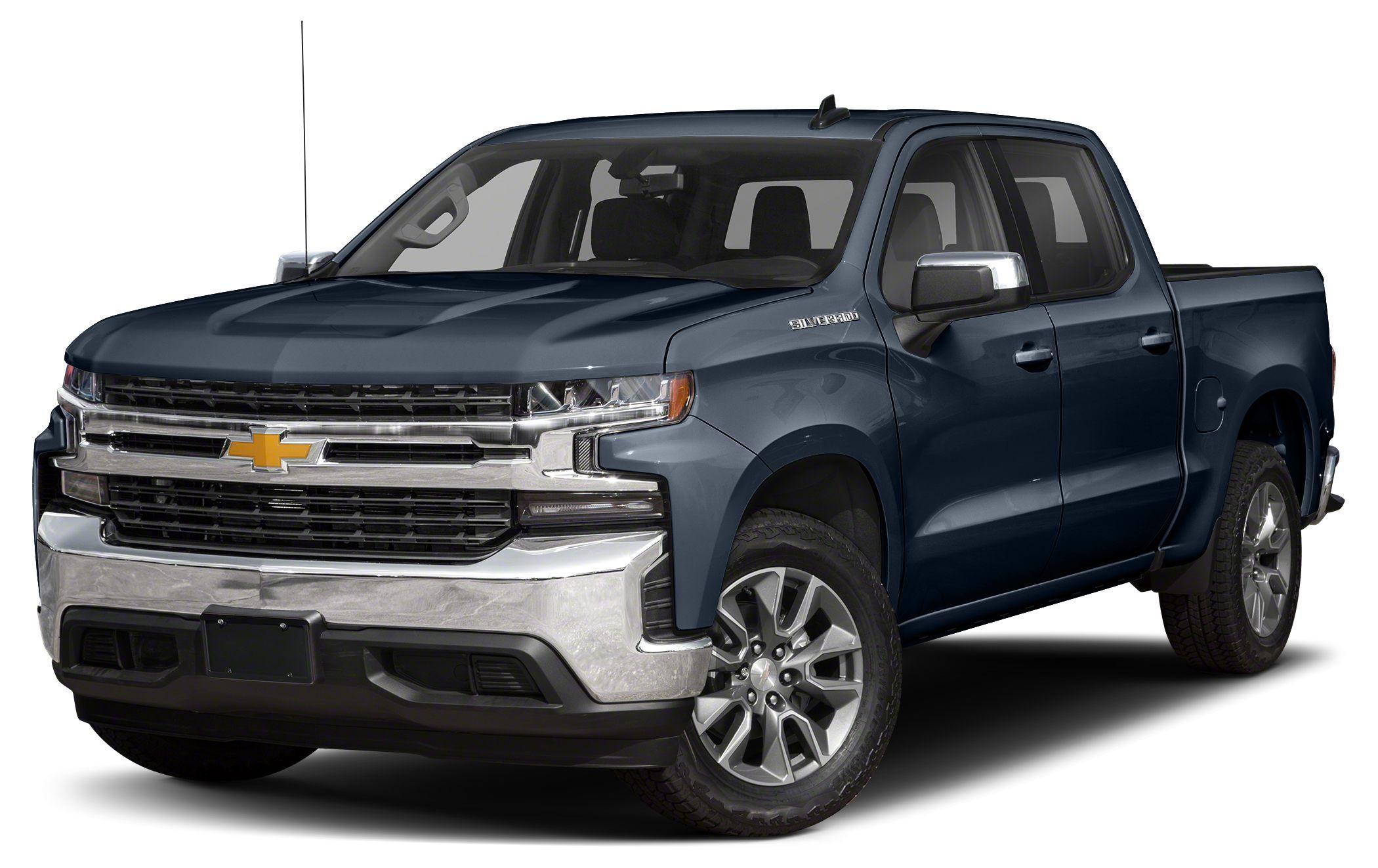 Image 2021 Chevrolet Silverado 1500 Custom Trail Boss