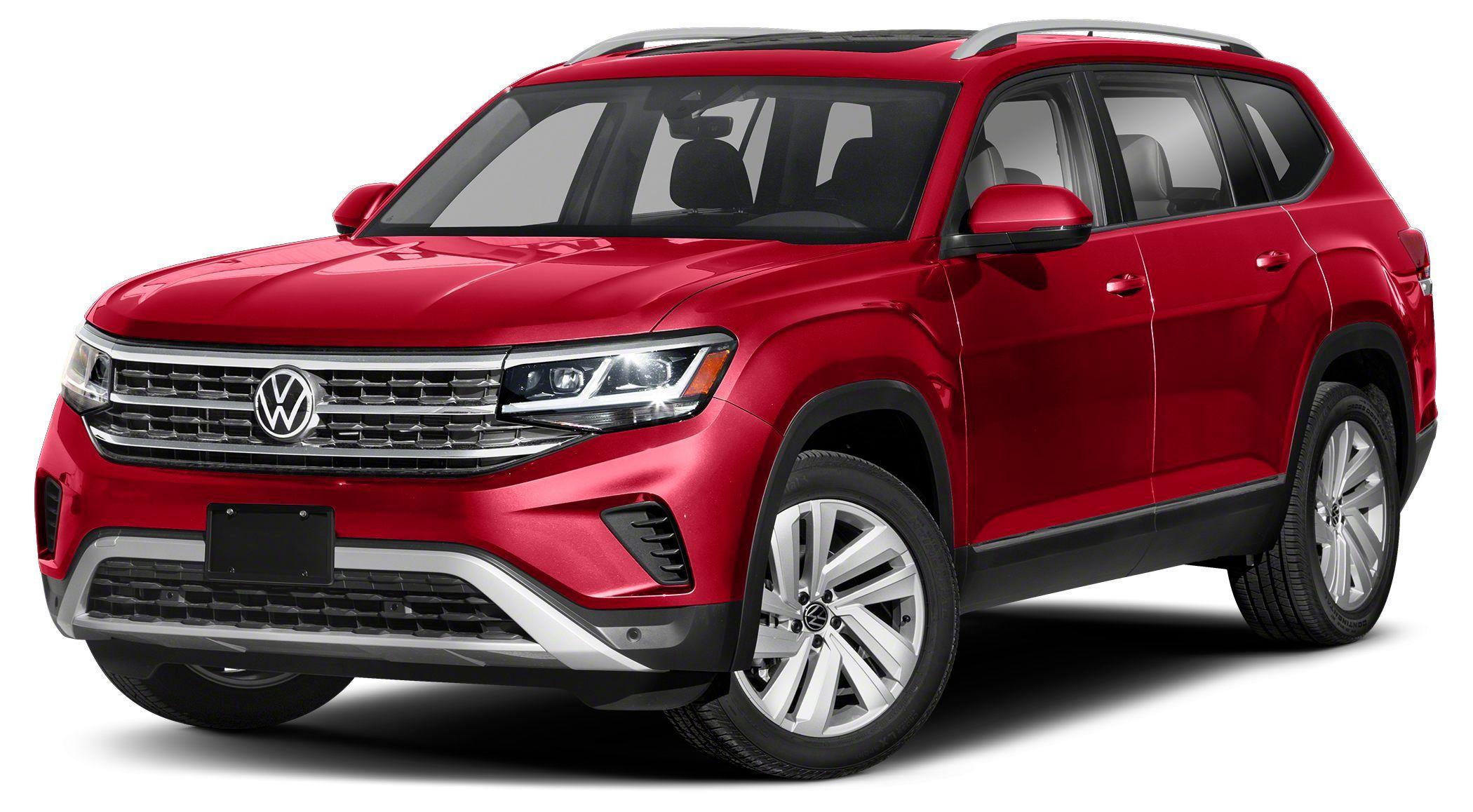 Image 2021 Volkswagen Atlas 3.6 V6 SE w/ Technology