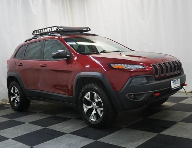 Image 2014 Jeep Cherokee Trailhawk